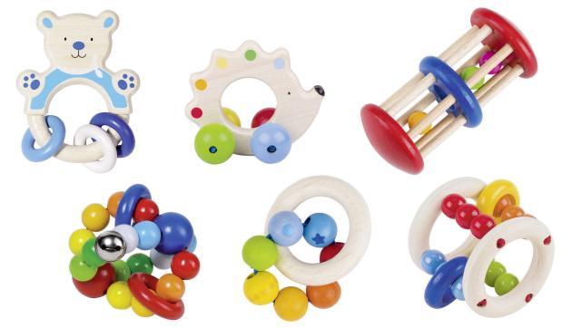 Heimess - chrastítka a hračky do ruky