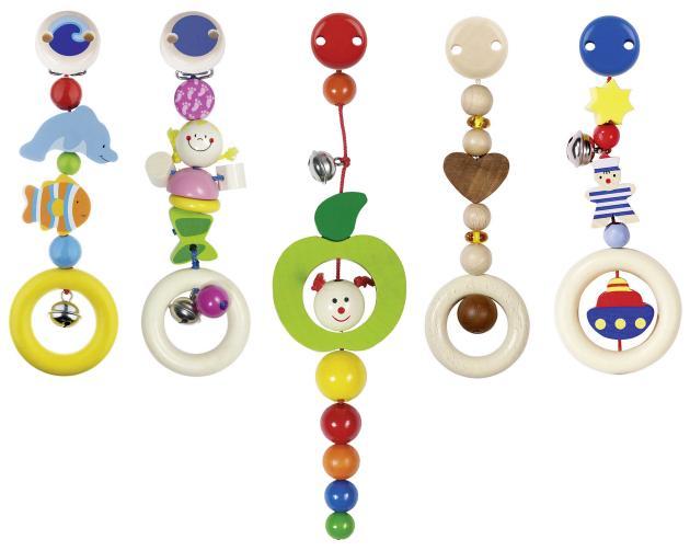 Heimess - hračky s klipem pro miminka