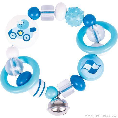 Plastový kroužek doruky – závodnička - Heimess