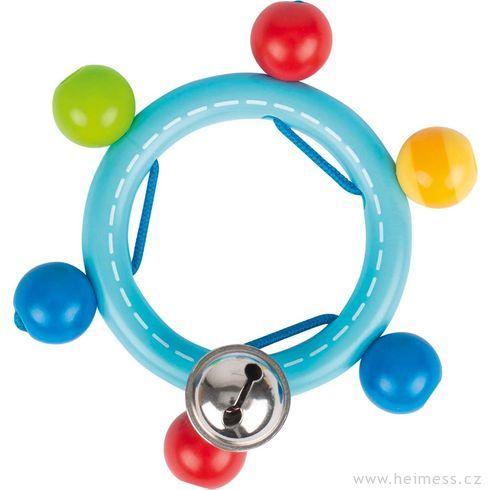 Plastový řetěz dokočárku – hvězdička - Heimess