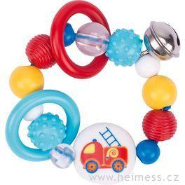 Plastová hračka doruky – hasičské auto
