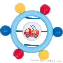 Plastová hračka doruky – kroužek hasiči