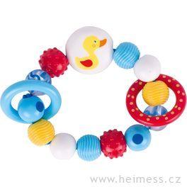 Plastová hračka doruky – kačenka