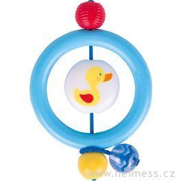 Plastový kroužek doruky – kačenka
