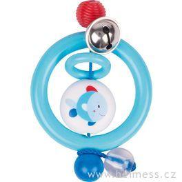 Plastová hračka doruky – kroužek rybka