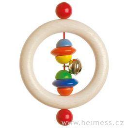 Půlkorále – dřevěný kroužek doruky