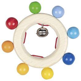 Duha srolničkou – dřevěná hračka doruky