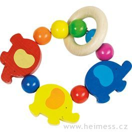 Sloni – elastická hračka doruky