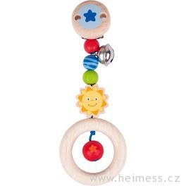 Sluníčko – hračka sklipem (Heimess soft colors)