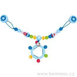 Plastový řetěz dokočárku – hvězdička