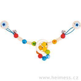 Duha – řetěz dokočárku (Heimess soft colors)
