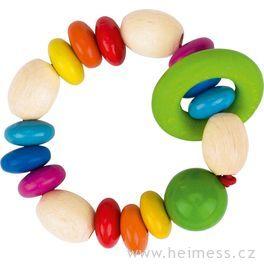 Duhové perličky – hračka doruky promiminka