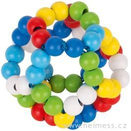 Elastický míč bezrolničky – hračka doruky