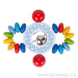 Elastický kroužek doručky – konfety