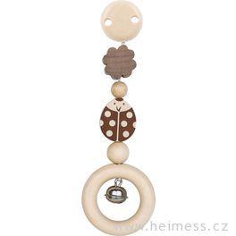 Beruška ačtyřlístek – hračka sklipem (Heimess nature)