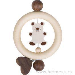 Medvídek avelké srdce – kroužek proděti (Heimess nature)