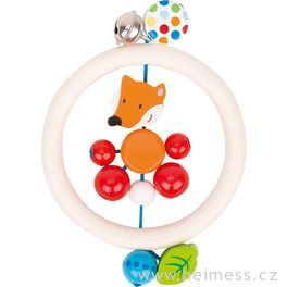 Liška – kroužek doruky srolničkou