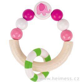 Růžové slůně – hračka pronejmenší