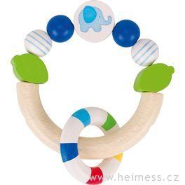 Modré slůně – hračka pronejmenší