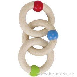 Tři kroužky – hračka doručky