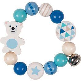 Lední medvěd – hračka doruky srolničkou